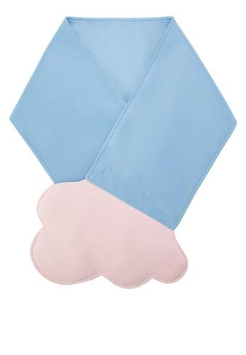 雙色雲狀造型圍zalora 心得脖, 飾品配件, 圍巾及披肩