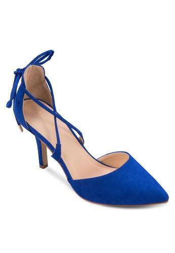 尖頭繫帶高跟鞋, 女鞋, 細帶高跟zalora 評價鞋