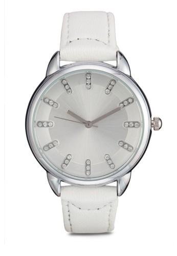 水鑽顯示指針圓錶, 錶類, 其它zalora鞋錶帶