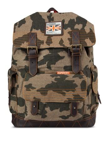 翻蓋拼接後背包, 包, 後揹zalora時尚購物網的koumi koumi包