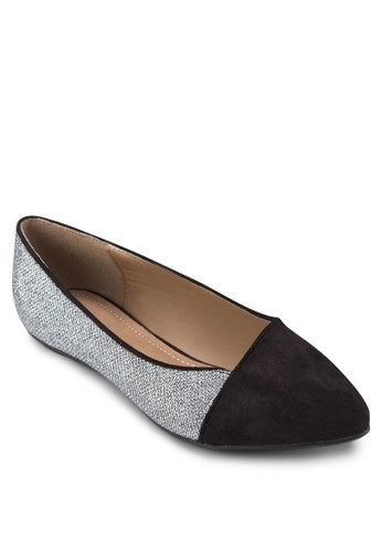 Glitter Casual zalora 心得Flat Pumps, 女鞋, 鞋