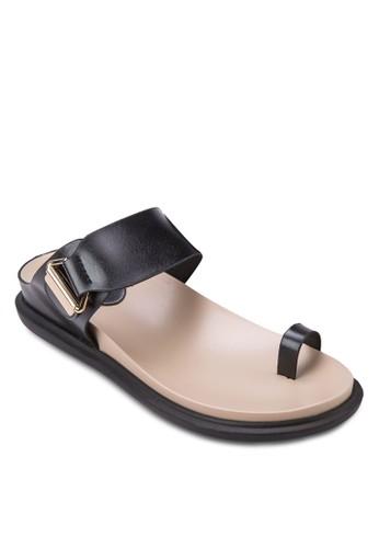 拇指套一zalora 評價字帶涼鞋, 女鞋, 涼鞋