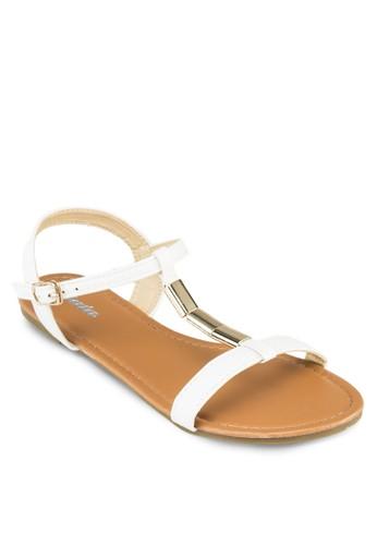 Wreen 繞踝zalora 台灣涼鞋, 女鞋, 涼鞋
