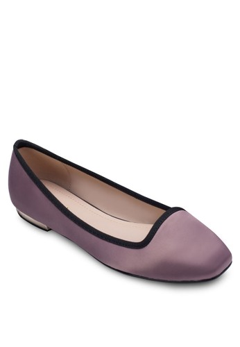 緞面樂福zalora退貨鞋, 女鞋, 船型鞋