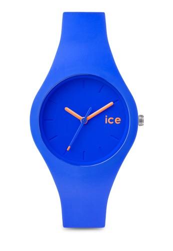 Ice zalora taiwan 時尚購物網鞋子Ola 矽膠圓錶, 錶類, 淑女錶
