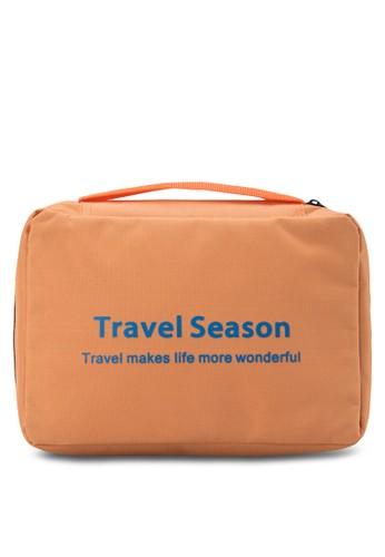 輕量防水化妝包,zalora 心得 包, 旅行配件