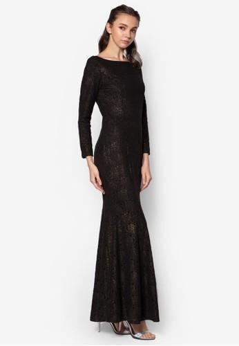 Lace Mermaid Dress, zalora 心得服飾, 洋裝