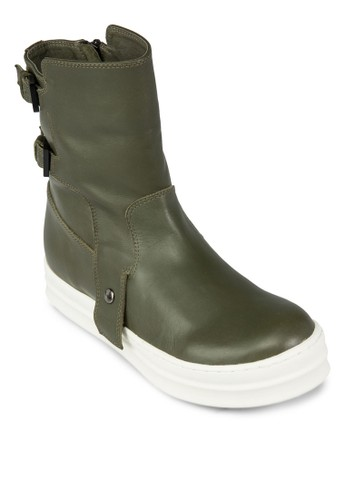Bootszalora時尚購物網的koumi koumi With Buckle, 女鞋, 靴子