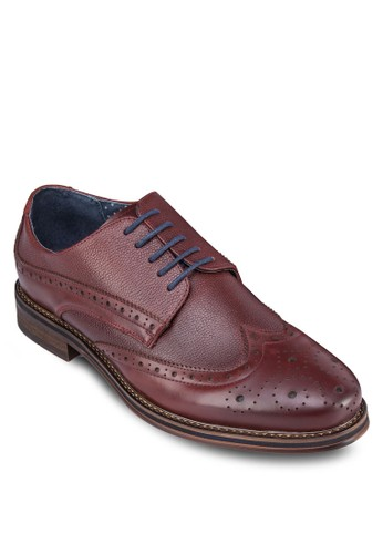 雕花布洛克牛zalora退貨津鞋, 鞋, 鞋