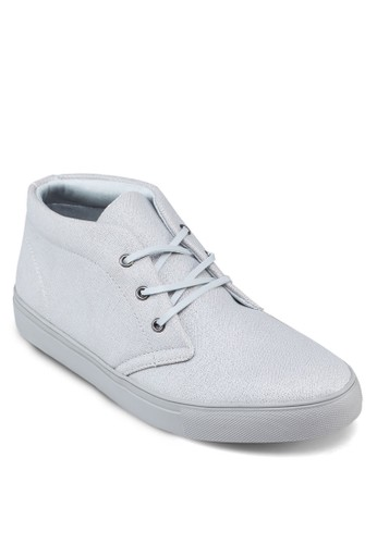Faux Leathzalora 內衣er High Top Sneakers, 鞋, 鞋