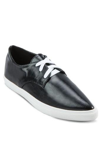亮面尖頭zalora鞋休閒鞋, 女鞋, 鞋