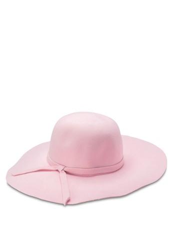 寬軟zalora時尚購物網評價帽沿軟呢帽, 飾品配件, 飾品配件