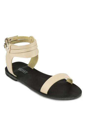 Frances 雙踝帶涼鞋, 女鞋,zalora鞋 涼鞋