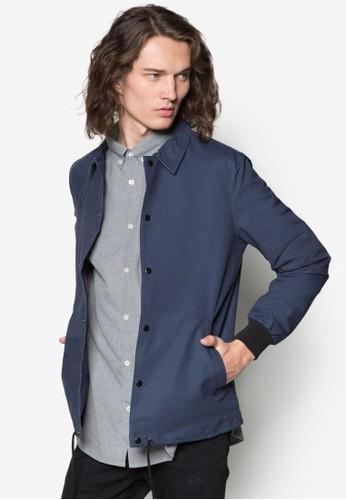 休閒排鈕開襟外套,zalora 評價 服飾, 服飾