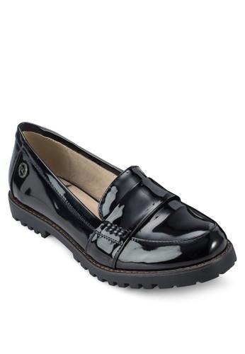 漆皮懶人樂福鞋, 女zalora鞋鞋, 鞋