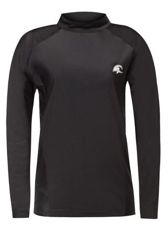 Solid Black Surf Shirt from HAWAII in Black