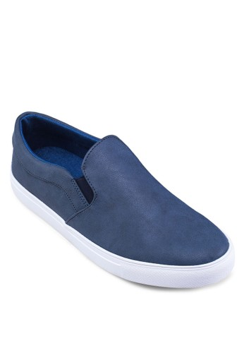 Faux Leather Slip-Ons, 鞋, 懶zalora 折扣碼人鞋