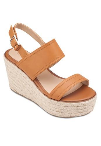 Scarantino Wedges, 女鞋, 魚口zalora鞋楔形鞋