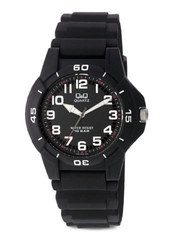 Q&Q VQ84J002Y 數字休閒手錶zalora 折扣碼, 錶類, 其它錶帶