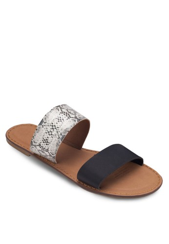 Kendallzalora 泳衣 雙寬帶涼鞋, 女鞋, 涼鞋