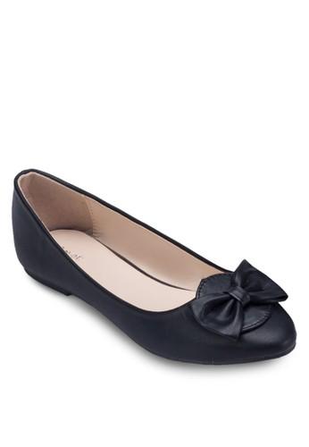 蝴蝶結zalora開箱平底鞋, 女鞋, 鞋