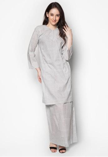 Baju Kurung Sharmila from Butik Sireh Pinang in White