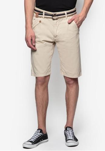 Royce 腰帶休閒短褲, zalora 鞋評價服飾, 短褲