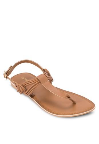 夾腳繞踝涼鞋,topshop 鞋 女鞋, 鞋