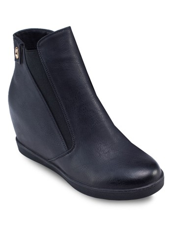 Galo 內增高靴子zalora 心得, 女鞋, 靴子