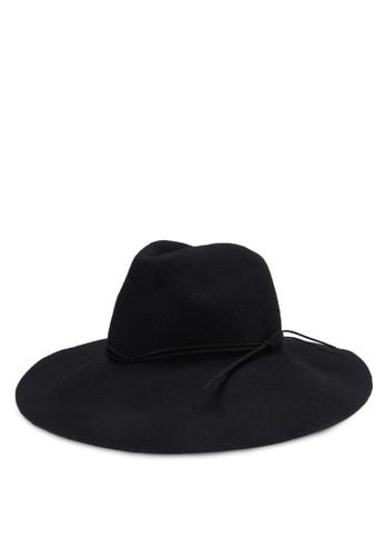羊毛軟呢圓頂帽, 飾品配mango taiwan門市件, 爵士帽