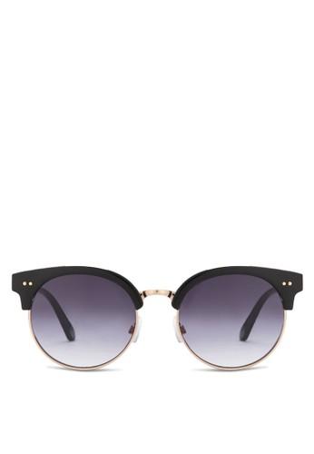 Linkletter 圓框太陽眼鏡, 飾品配件zalora 順豐, 飾品配件