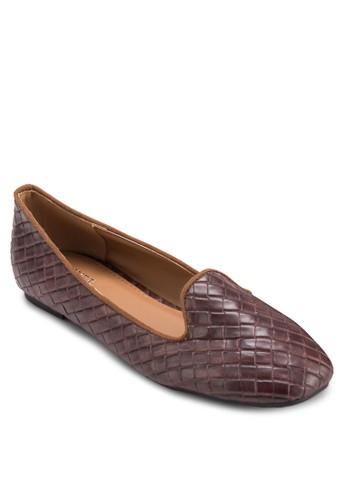Lidia 編織樂zalora 評價福鞋, 女鞋, 船型鞋