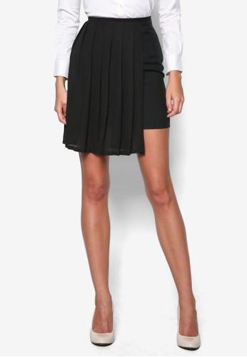 Geralzalora鞋dine 側褶飾短裙, 服飾, 裙子
