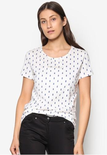 Logo Cotton T-Shirt, 服飾zalora 鞋評價, 服飾