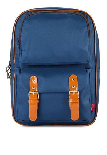簡約旅行後背包zalora開箱, 包, 旅行背包