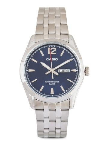 MTPzalora 評價-1335D-2AVDF 不銹鋼三指針圓錶, 錶類, 不銹鋼錶帶