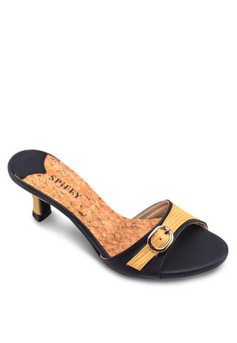 休閒中跟涼鞋, 女鞋, zalora 鞋評價中跟