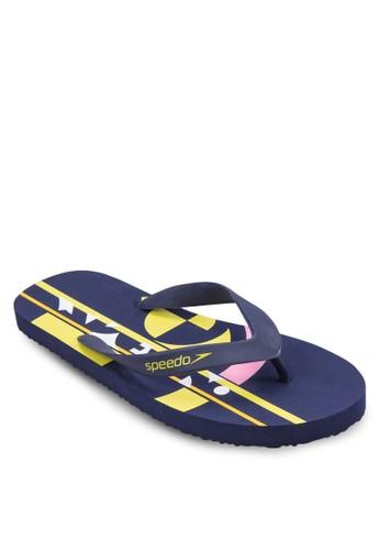 印花夾腳拖, 女鞋, 運zalora 鞋評價動鞋