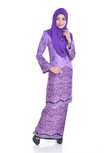 Kurung Modern Eizara(L.Purple) from Nur Shila in Purple