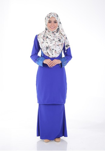 Arianna Modern Kurung from Saqma Boutique in Blue