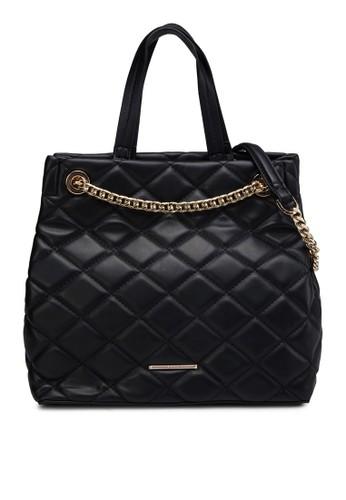 菱格紋鏈飾肩背包, 包, zalora時尚購物網評價包