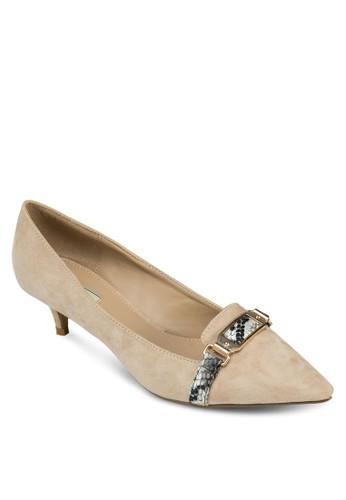 閃飾緞感尖頭高zalora 鞋評價跟鞋, 女鞋, 高跟鞋